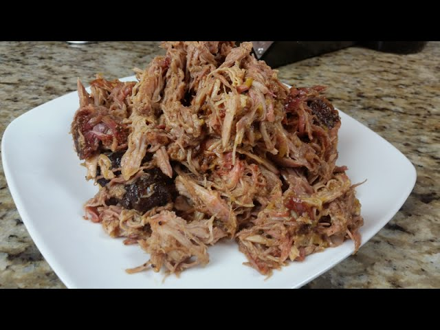 traeger pulled pork Ingredients 2- 8lb boston butt roasts (bone in) 1 bag- morton tenderquick 1 bottle- woodmaster original barbeque sauce tin foil directions pork butt recipe.