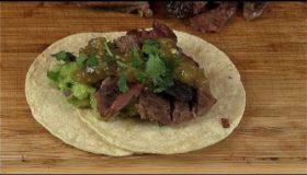 Street Tacos with Smoked Goat Meat (Cabrito Tacos video recipe)