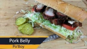 Porkbelly Poboy + HUGE Open Giveway!!