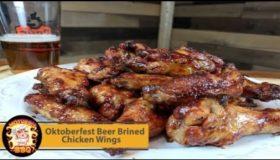 Oktoberfest Beer Brined Chicken Wing Recipe