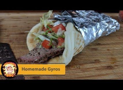 Homemade Greek Gyros with Tzatziki Recipe | Pit Barrel Cooker