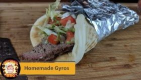 Homemade Greek Gyros with Tzatziki Recipe | Pit Barrel Cooker