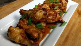 How to make Sweet Thai Chili glazed Chicken Wings Recipe