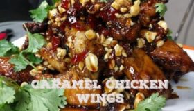 MothersBBQ | How To Make Spicy Caramel Chicken Wing Recipe