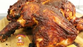Grilled Chicken Recipe with a maple-bourbon BBQ sauce | PitBarrel Cook
