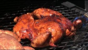 Smoked Chicken Recipe | Angry Orchard Green Apple Chicken