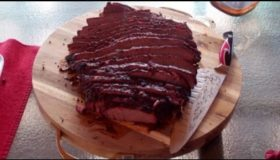 Smoked Brisket with a Russian Imperial Stout BBQ Sauce Recipe