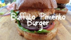 Homemade Burger Recipe | Buffalo Pimento Burger Recipe