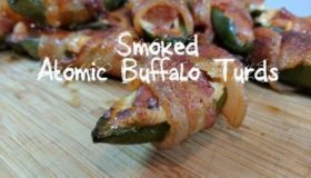 Pit Barrel Cooker jalapenos poppers. How to smoke Atomic Buffalo Turds | PBC grilled ABTs