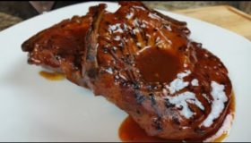 St. Louis Barbecued Pork Steaks Recipe