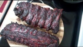 Beef/Pork Smoked Ribs – Great ribs on the UDS!
