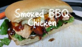 MothersBBQ | Smoked BBQ Chicken Sandwich Recipe on the Weber Kettle