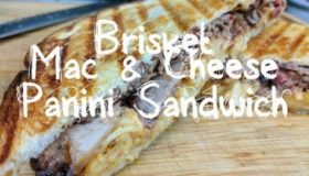 MothersBBQ | Brisket Mac and Cheese Panini Sandwich
