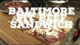 Baltimore Pit Beef Sandwich recipe