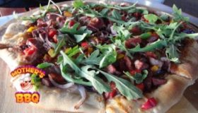 Grill Dome Kamado | Blueberry BBQ Brisket PIzza Recipe – Summer Pizza Series