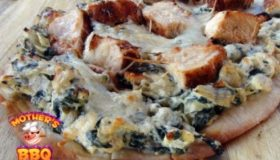 Smoked Chicken-Artichoke-Spinach Pizza Recipe | Grill Dome Summer Pizza Series