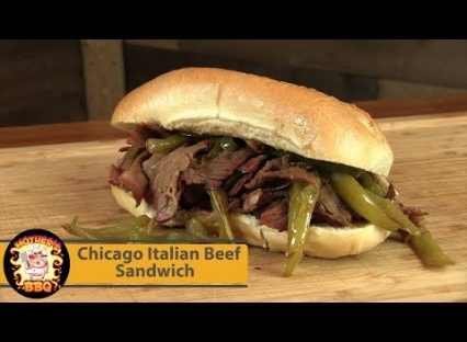 Chicago Italian Beef Sandwich | First cook on the new Kamado Joe Classic
