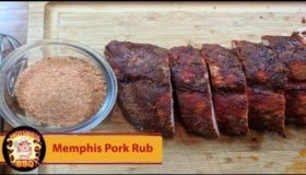 Memphis Dry Rub Baby Ribs Recipe