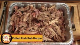 Pulled Pork | My personal Pork Rub Recipe | Smoked on the Rectec BullsEye