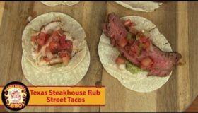 Street Taco Recipe | Texas Steakhouse Rub