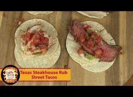 Street Taco Recipe   Texas Steakhouse Rub