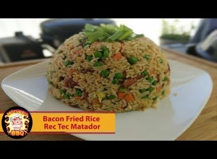 Rec Tec Grills Matador – Bacon Fried Rice